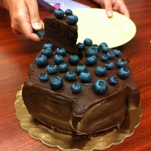 Mauve Cake