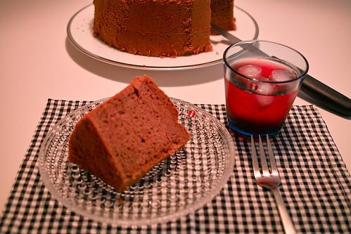 Cocoa Chiffon Cake by RioLaaa