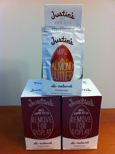 Look what the mailman just delivered! Three boxes of @JustinsNutButta goodness!