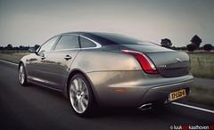Jaguar XJ.. (Luuk van Kaathoven) Tags: jaguar van 50 v8 xj luuk lwb luukvankaathovennl rijtestennl kaathoven