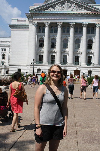 Me at the Capitol, Madison