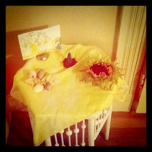 Summer nature table by FuNkY MoMmY