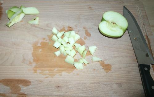 19 - Apfel würfeln