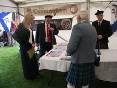 Border Clansmen Meet Inside the Tent