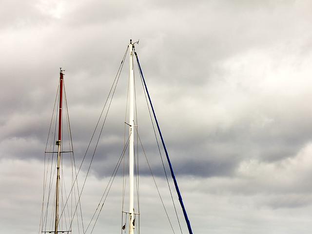 Dia de nubes para navegar