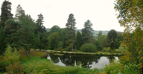Pond,Chatsworth House
