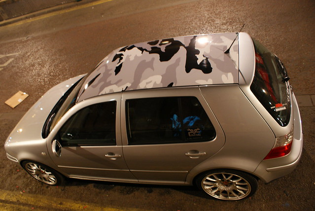 Mk4 Golf Looking for ideas for a vinyl wrap on my roof ...