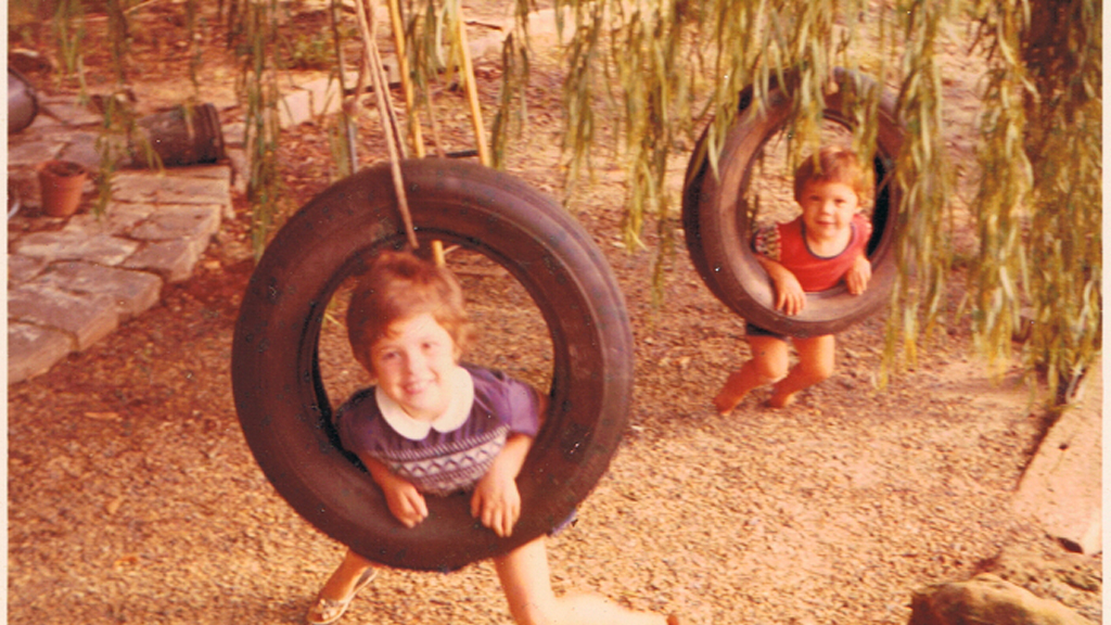Tyre swings and sparkly shoes by Clancy McDowell