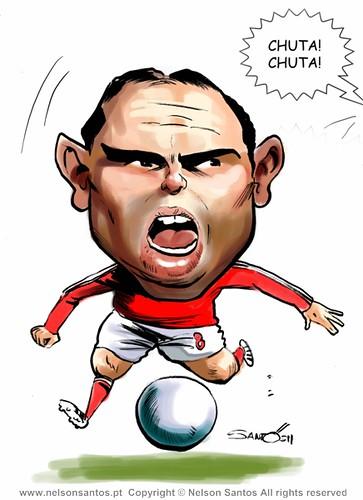 Bruno Cesar Chuta Chuta Benfica[Copyright Nelson Santos] by caricaturas