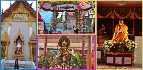 5 standing buddha