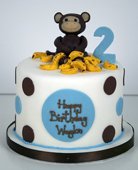 BC4005 - 2nd birthday monkey cake toronto (www.fortheloveofcake.ca) Tags: monkeycake 2ndbirthdaycake junglecake zoocake monkeybirthdaycake torontocakes torontobirthdaycakes monkeythemecake