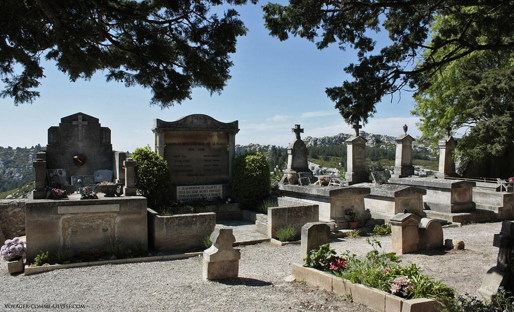 Cimetière des Baux de Provence