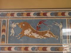 Fresco in Cnossos (Elisa Giovinazzo) Tags: crete fresco cnossos