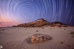 Landscape with stars (Abdulkreem Al-delaigan | ) Tags: longexposure apple canon landscape photography flickr   2011  canonef1635mmf28lusm  riyadhsaudiarabia   canon5dmark|| abdulkreemaldelaigan   abdulkreem aldelaigan