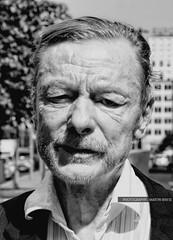 People (GZZT) Tags: old portrait people bw white man black berlin germany de blackwhite otto actor sw mann mb sander schauspieler 030 schwarzweis ottosander gzzt martinbriese
