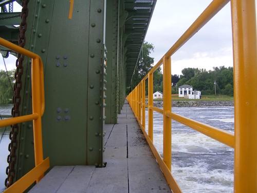 Dam walkway