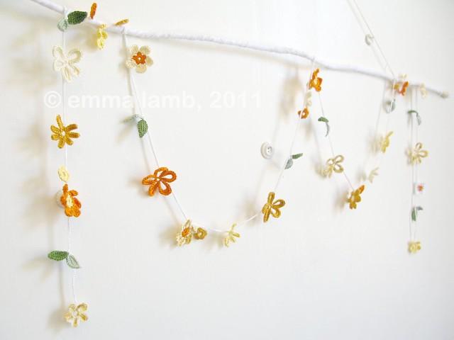 Molly... blossom garland | Emma Lamb