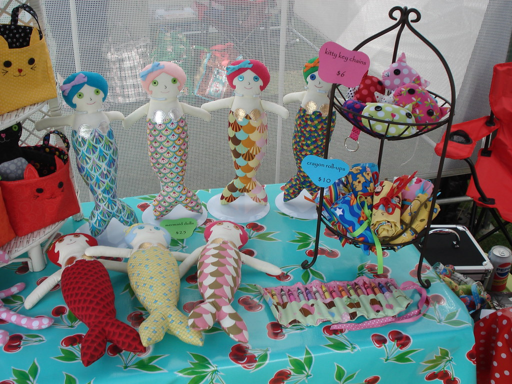 How To Display Rag Dolls At A Craft Show