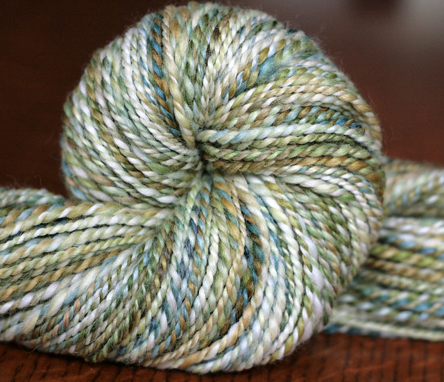 Pretty Green Handspun