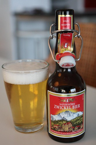 Naturtrubes Zwickel Bier