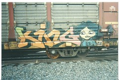 KING157 (BGIZL) Tags: art graffiti king trains rtm autoracks