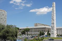 La Place Marconi (EUR, Rome)