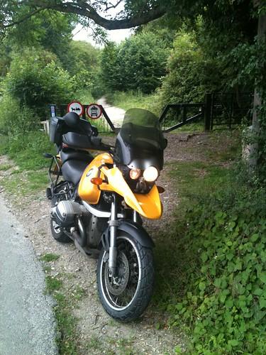 74000 miles - Pilgrims Way near Lenham