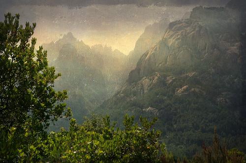 Corsican wild mountains by texturedJohn