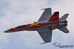 CF-18 demo jet