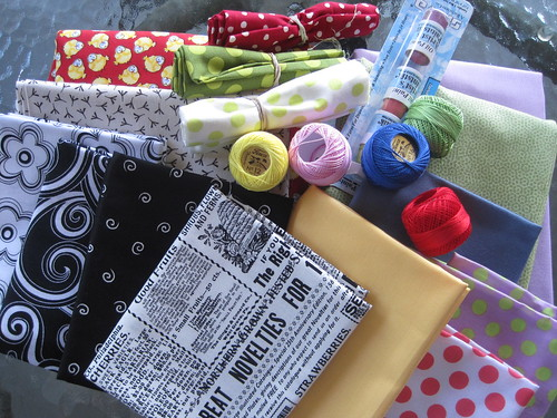 goodies from Waterwheel House Quilt Shop