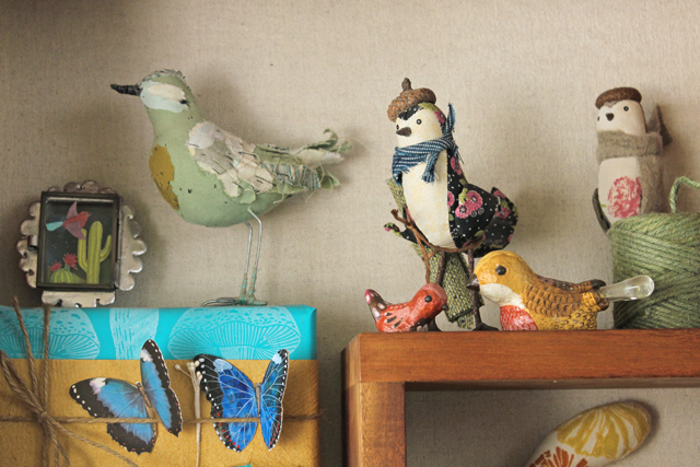 Birds on the Shelf