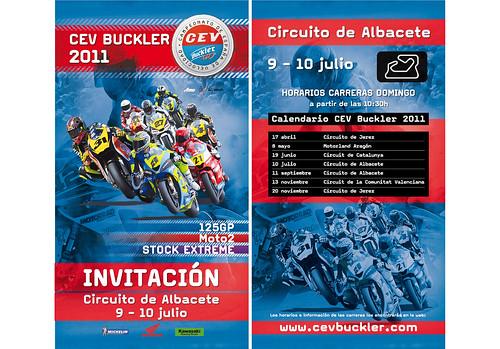 Invitacion CEV Buckler 2011 Circuito Albacete