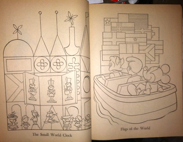 Jon\'s Random Acts of Geekery: CBT: 1968 Disneyland Coloring Book ...