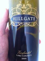 2009 Hillgate Zinfandel