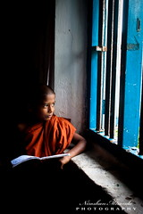 Path to enlightenment (Niroshan Mirando) Tags: life lighting window little buddhist monk buddhism sri lanka srilanka enlightenment monastic theravada theravadabuddhism
