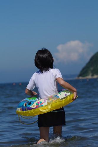 海水浴@逗子海岸