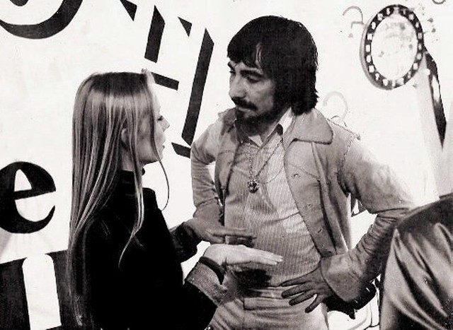 1976 - Keith Moon & Chrissie Grambitter -