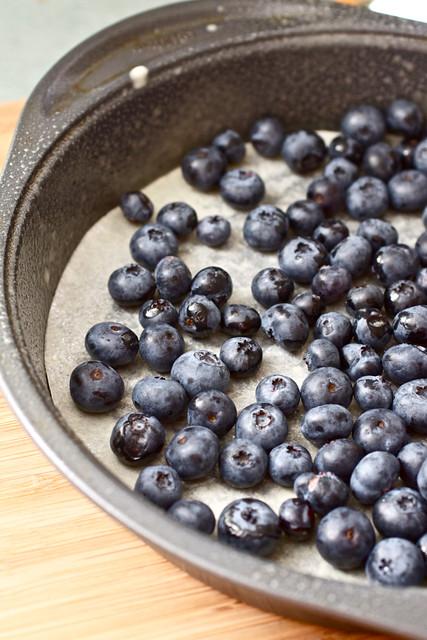 Blueberry Buttermilk Upside-Down Cake