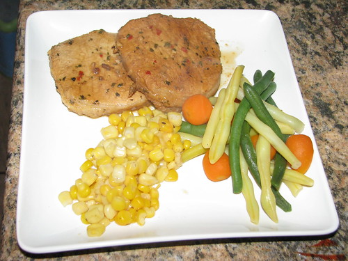 Orange Pork and Veggies