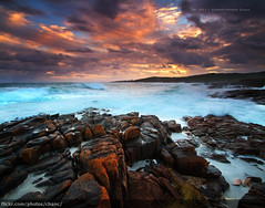Boat Harbour Vertorama, Port Stephens (Christopher Chan) Tags: sunset storm clouds canon australia nsw 7d newsouthwales 1022mm portstephens boatharbour vertorama
