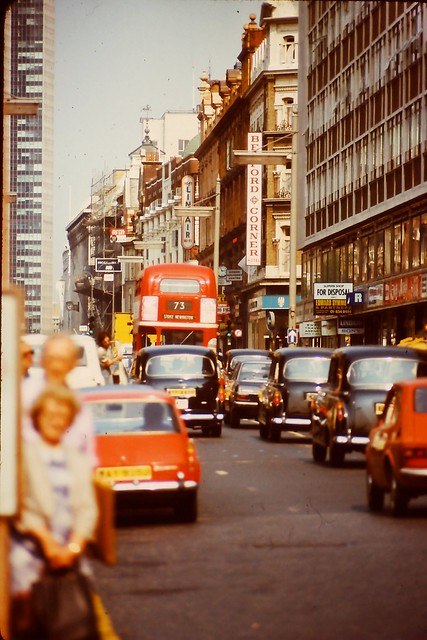 1976 - London - Tottenham Court Road