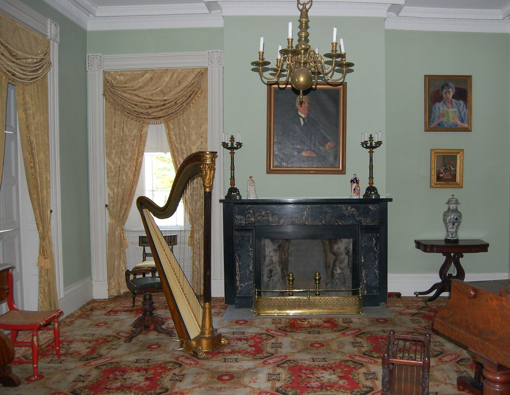 Rose  Hill  Mansion - The  Music  Room
