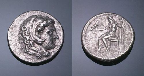 An Excessively Rare and Highly Important Greek Silver Dekadrachm of Alexander III 'the Great', King of Macedon, of Extreme Rarity as Compared to the Prolific Output of Alexandrine Tetradrachms