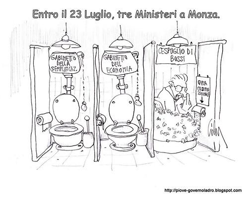 Entro il 23 Luglio, tre Ministeri al Nord by Livio Bonino