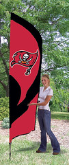 Tampa Bay Buccaneers Tall Feather Flag