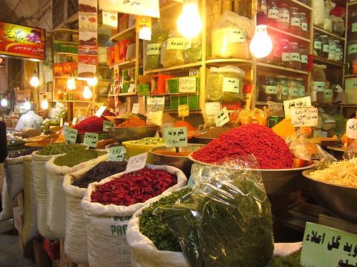The spice bazaar.