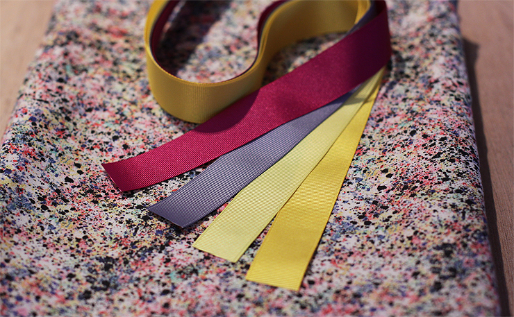Liberty Print and Ribbons