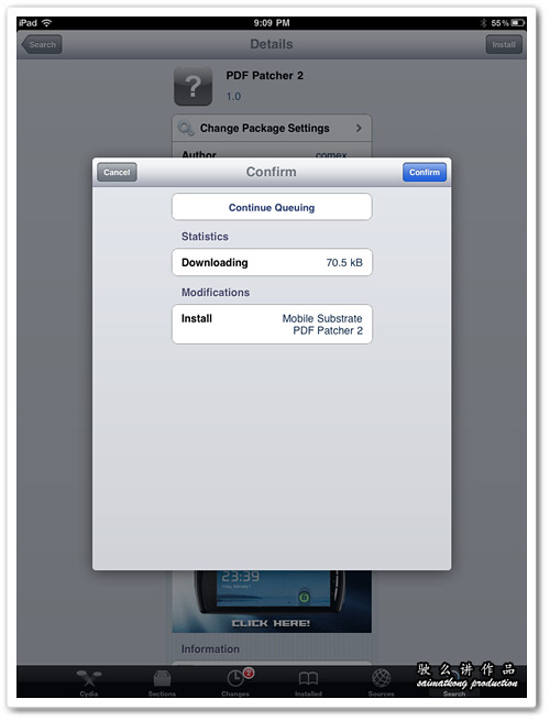Cydia - PDF Patcher 2