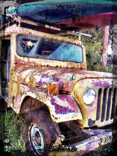 Bill Jackson's Grungy Jeep by bichonphoto