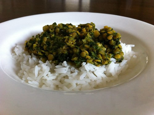 Red Lentil & Spinach Daal by mjd-s